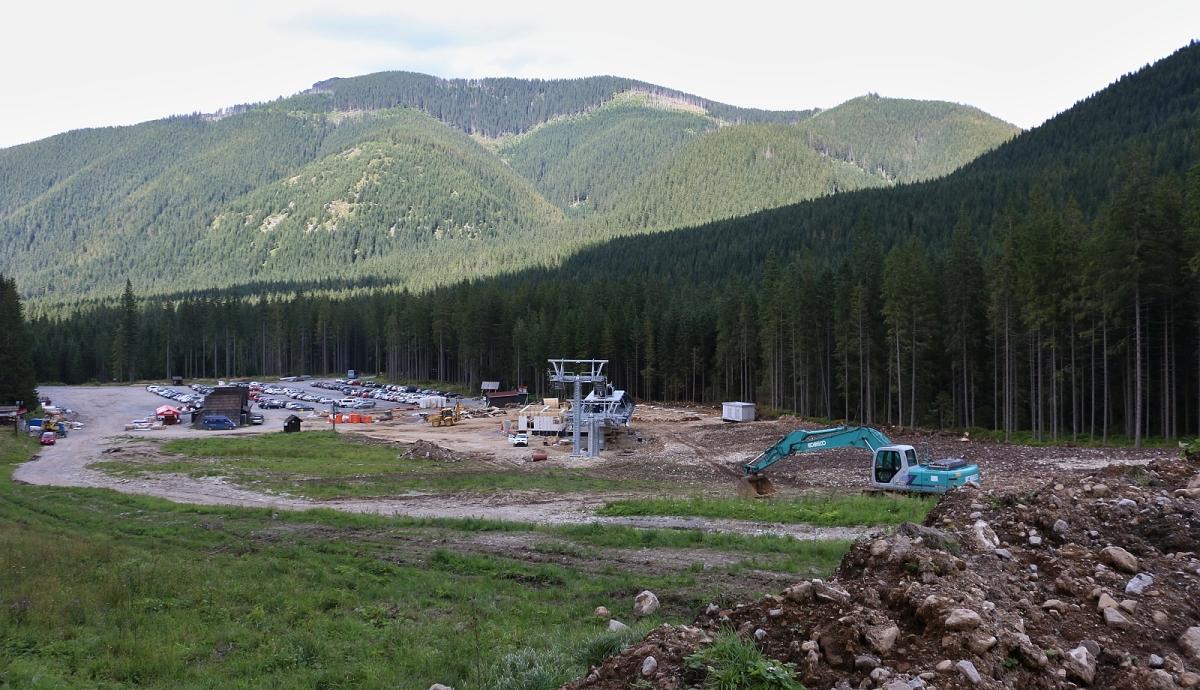 Výstavba lyžařské lanovky Spálená, Roháče