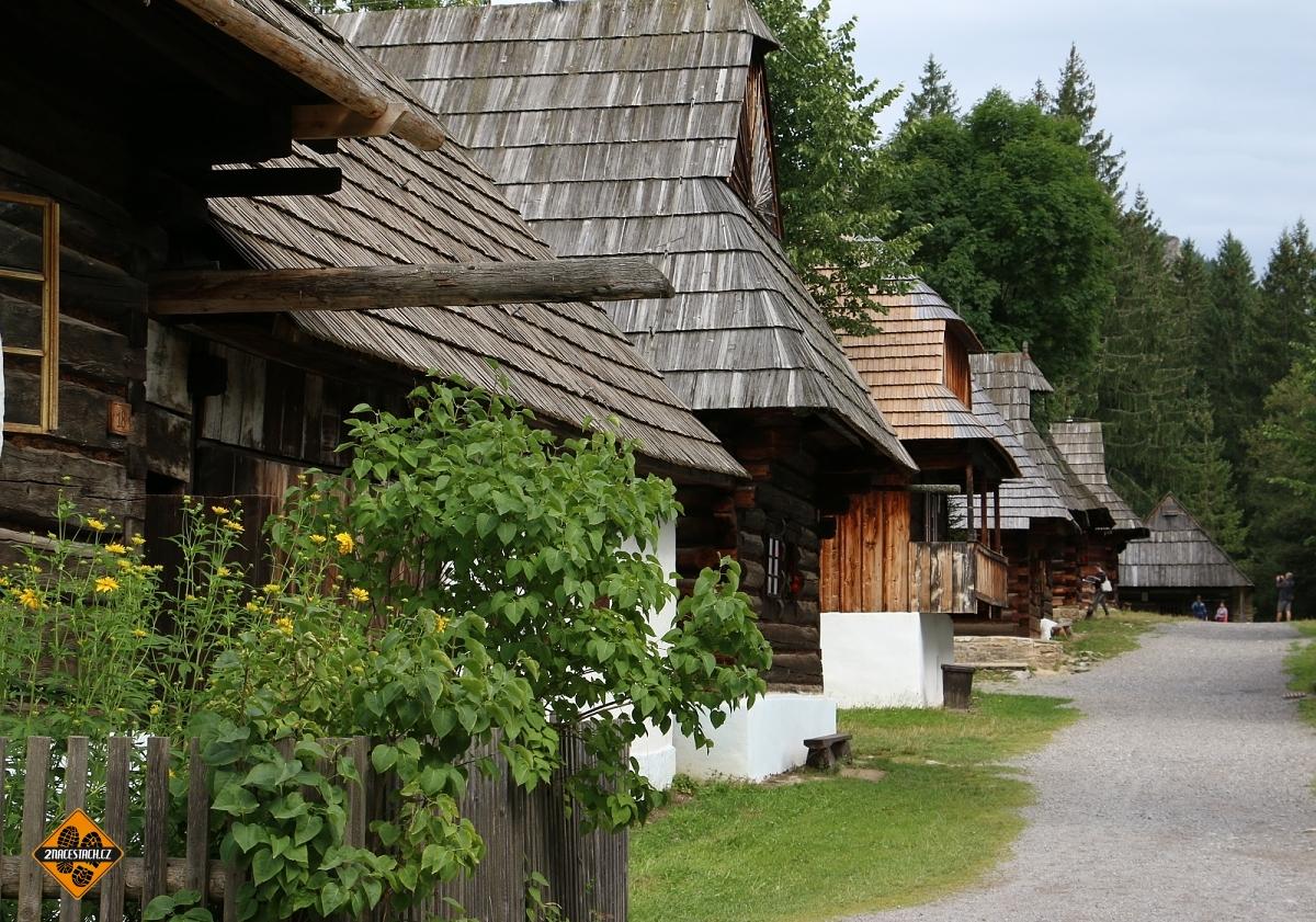 Muzeum Oravskej dediny, architektura