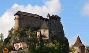 Impozantní Oravský hrad