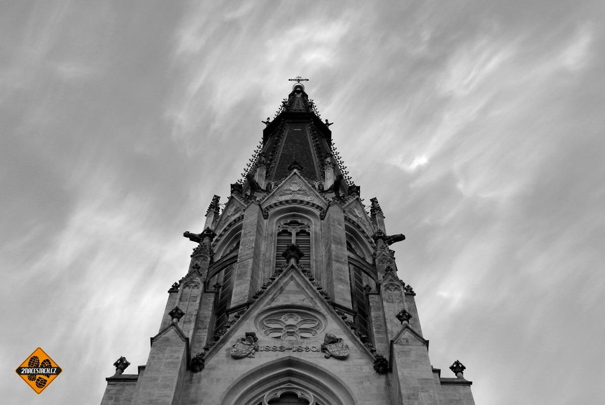 Jižní věž katedrály sv. Václava v Olomouci