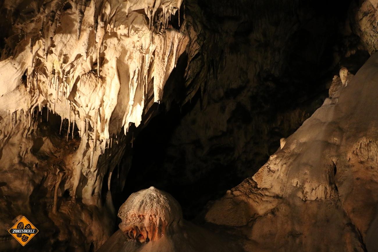 Výzdoba Sloupsko-Šošůvských jeskyní