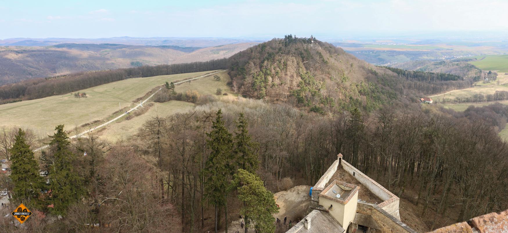 Vrch s kaplí sv. Barbory z Buchlova