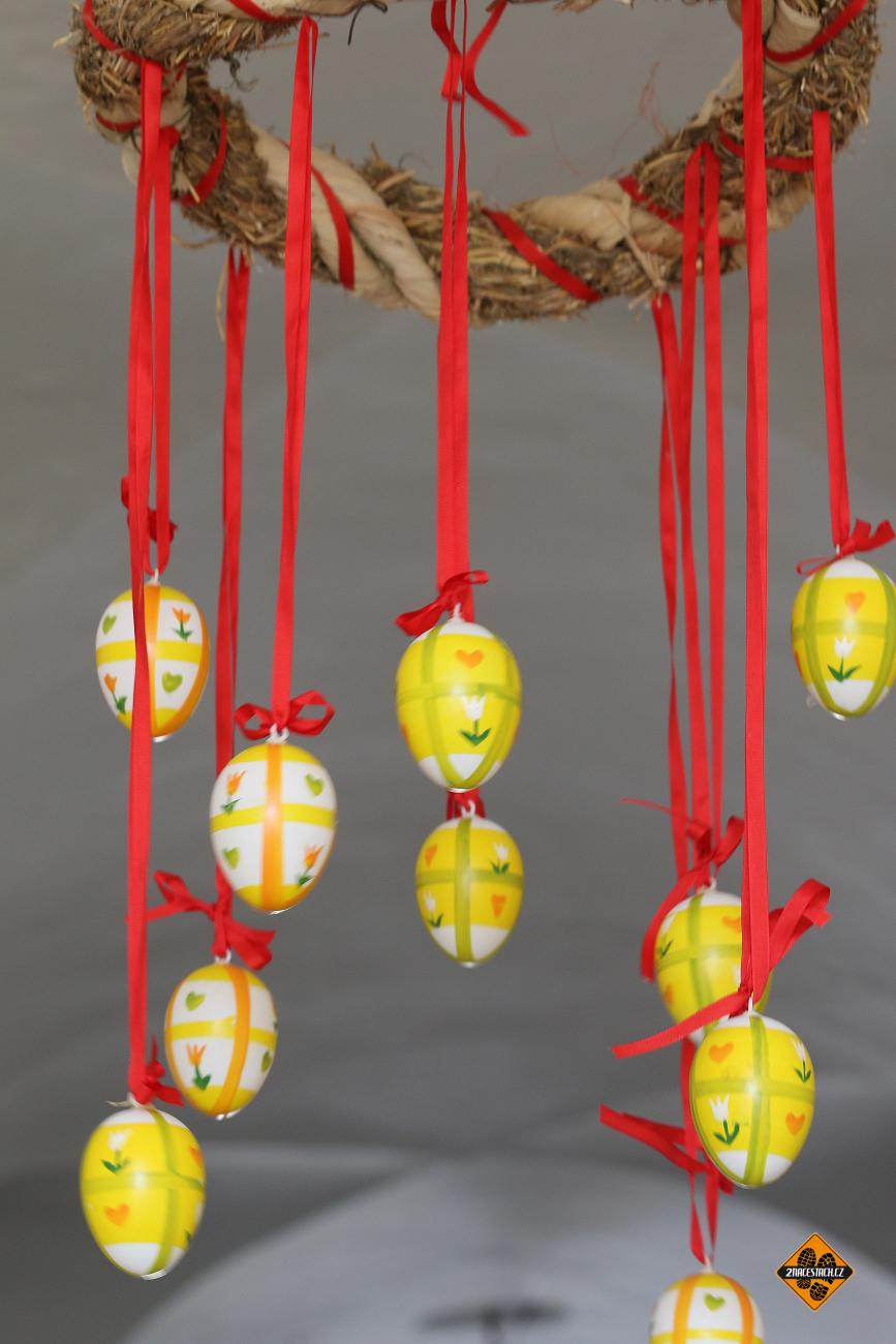 Velikonoční výzdoba na hradě Buchlov