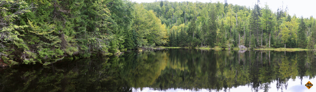Martinsklause. Tohle jezero byla ochutnávka ze dnů dalších, aneb nabyli jsme dojmu, že žádny okruh se neobejde bez svého jezera.