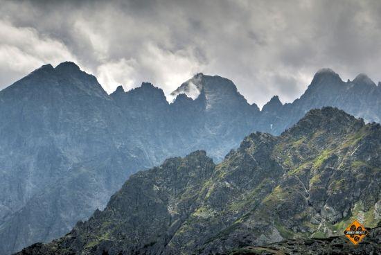 ostré vrcholy vysokých tater