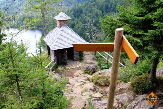 kaplička nad jezerem rachel see, grosser rachel kapelle