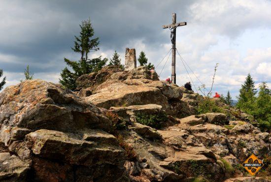 vrchol grosser rachel, bavorský les