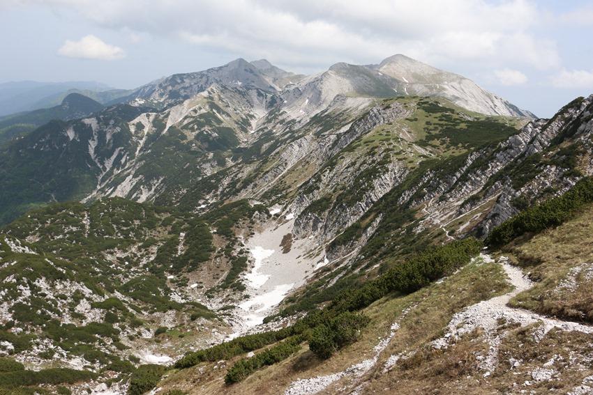pocit svobody v úchvatné horské scenérii, Slovinsko