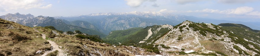 panorama pod Šijou, Slovinsko